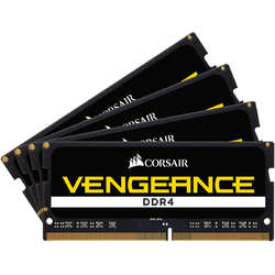 Vengeance, 64GB, DDR4, 2400MHz, CL16, 1.2V, Kit Quad Channel