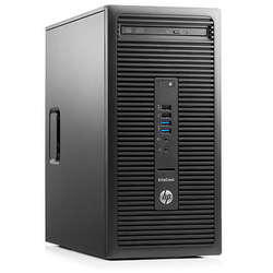 EliteDesk 705 G2 MT, AMD A10-8750B 3.6GHz, 8GB DDR3, 2TB HDD, GeForce GT 730 2GB, FreeDOS, Negru