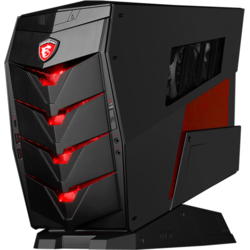 Aegis, Core i5-6400 2.7GHz, 8GB DDR4, 1TB HDD + 128GB SSD, GeForce GTX 960 4GB, Win 10 Home 64bit, Negru/Rosu