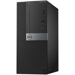 OptiPlex 3046 MT, Core i3-6100 3.7GHz, 4GB DDR4, 500GB HDD, Intel HD 530, Win 10 Pro 64bit, Negru