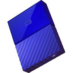 My Passport, 4TB, USB 3.0, Albastru