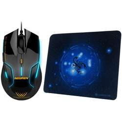N500 Black + Mousepad MP235
