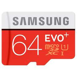 Micro SDXC EVO PLUS UHS-1 Clasa 10 64GB + Adaptor SD