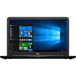 Inspiron 5567, 15.6'' FHD, Core i5-7200U 2.5GHz, 8GB DDR4, 1TB HDD, Radeon R7 M445 4GB, Win 10 Home 64bit, Negru