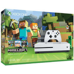 Xbox One S, 500GB + Joc Minecraft