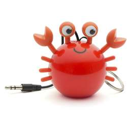 Mini Buddy Crab, Portabila, Jack 3.5 mm, Rosu