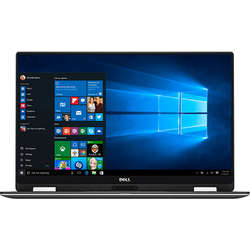 XPS 13 9365, 13.3'' QHD+ Touch, Core i7-7Y75 1.3GHz, 8GB DDR3, 512GB SSD, Intel HD 615, FingerPrint Reader, Win 10 Pro 64bit, Argintiu