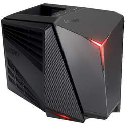 IdeaCentre Y710 Cube, Core i5-6400 2.7GHz, 8GB DDR4, 1TB HDD, GeForce GTX 1060 6GB, FreeDOS, Negru