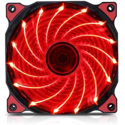 Polar Wind Red LED, 120mm