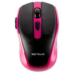 Pastel 600, Wireless, USB, Optic, 1600dpi, Negru/Mov