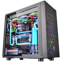 Core X31 Tempered Glass Edition, MiddleTower, Fara sursa, Negru