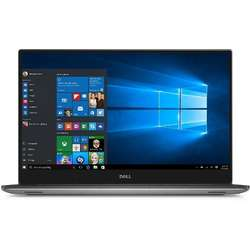XPS 15 9560, 15.6'' FHD, Core i7-7700HQ 2.8GHz, 8GB DDR4, 256GB SSD, Intel HD 630, Win 10 Pro 64bit, Argintiu