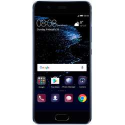 P10, Dual SIM, 5.1'' IPS-NEO LCD Multitouch, Octa Core 2.4GHz + 1.8GHz, 4GB RAM, 64GB, Dual 20MP + 12MP, 4G, Dazzling Blue