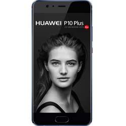 P10 Plus, Dual SIM, 5.5'' IPS-NEO LCD Multitouch, Octa Core 2.4GHz + 1.8GHz, 6GB RAM, 128GB, Dual 20MP + 12MP, 4G, Dazzling Blue