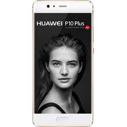 P10 Plus, Dual SIM, 5.5'' IPS-NEO LCD Multitouch, Octa Core 2.4GHz + 1.8GHz, 6GB RAM, 128GB, Dual 20MP + 12MP, 4G, Prestige Gold