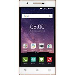 X586, Dual SIM, 5.0'' IPS Multitouch, Quad Core 1.3GHz, 2GB RAM, 16GB, 13MP, 4G, Champagne White
