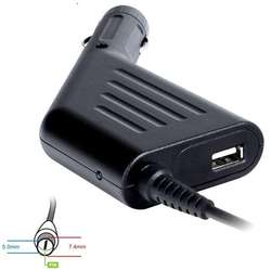 19.5V/4.62A, 90W, conector 7.4 x 5.0mm + pin pentru Dell, port USB
