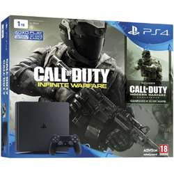 PlayStation 4 Slim, 1TB + Joc Call of Duty Infinite Warfare Legacy Edition