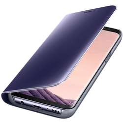 Clear View Cover pentru Galaxy S8 Plus G955, Violet