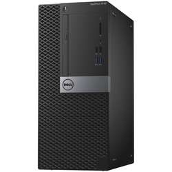 OptiPlex 3046 MT, Core i3-6100 3.7GHz, 4GB DDR4, 500GB HDD, Intel HD 530, 1 x VGA, Linux, Negru
