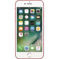 iPhone 7, Single SIM, 4.7'' LED backlit IPS Retina Multitouch, Quad Core 2.34GHz, 2GB RAM, 128GB, 12MP, 4G, Special Edition Red