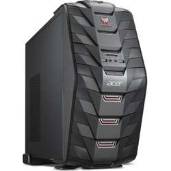 Aspire Predator G3-710, Core i7-7700 3.6GHz, 16GB DDR4, 1TB HDD + 256GB SSD, GeForce GTX 1070 8GB, Win 10 Home 64bit, Negru
