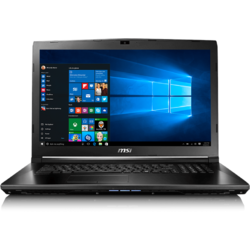 GL72 7RD, 17.3'' FHD, Core i7-7700HQ 2.8GHz, 8GB DDR4, 1TB HDD, GeForce GTX 1050 2GB, Win 10 Home 64bit, Negru