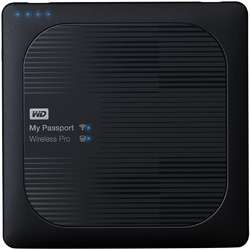 My Passport Wireless Pro, 3TB, USB 3.0/Wi-Fi, Negru
