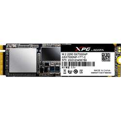 SX7000, 256GB, PCI Express x4, M.2 2280