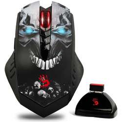 Bloody Light Strike R80A, Wireless, USB, Optic, 4000dpi, Negru