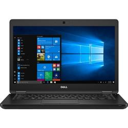 Latitude 5480, 14.0'' FHD, Core i7-7600U 2.8GHz, 8GB DDR4, 256GB SSD, Intel HD 620, FingerPrint Reader, Win 10 Pro 64bit, Negru