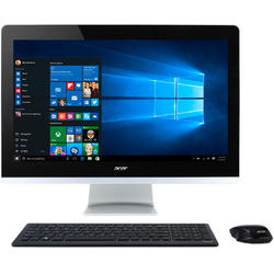 Aspire Z3-705, 21.5'' FHD Touch, Core i3-5005U 2.0GHz, 4GB DDR3, 1TB HDD, Intel HD 5500, Win 10 Home 64bit, Negru