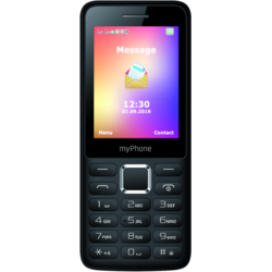 6310, Dual SIM, 2.4'' TFT, 0.3MP, 2G, Bluetooth, Negru