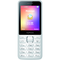 6310, Dual SIM, 2.4'' TFT, 0.3MP, 2G, Bluetooth, White