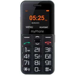 Halo Easy, Single SIM, 1.77'' TFT, 0.3MP, 2G, Bluetooth, Black