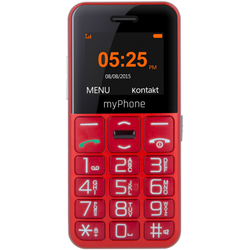 Halo Easy, Single SIM, 1.77'' TFT, 0.3MP, 2G, Bluetooth, Red