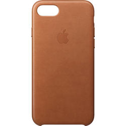 Leather Case pentru iPhone 7, Maron Saddle