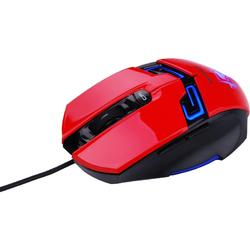 N6000 Red, USB, Optic, 1600dpi, Rosu/Negru