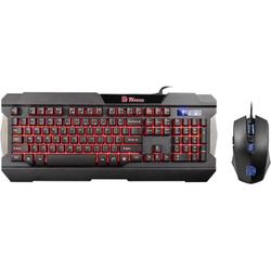 Tt eSPORTS Commander Combo Multi Light, USB, Negru