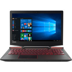 Legion Y720-15IKB, 15.6'' FHD, Core i7-7700HQ 2.8GHz, 16GB DDR4, 1TB HDD + 512GB SSD, GeForce GTX 1060 6GB, Win 10 Home 64bit, Negru