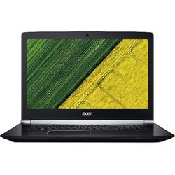 Aspire Nitro VN7-793G-74PR, 17.3'' FHD, Core i7-7700HQ 2.8GHz, 16GB DDR4, 256GB SSD, GeForce GTX 1050 Ti 4GB, Linux, Negru