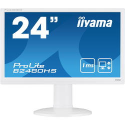ProLite B2480HS-W2, 23.6'' Full HD, 1ms, Alb