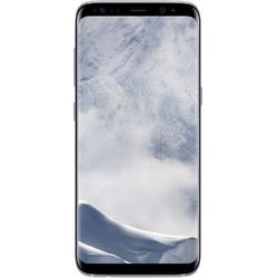 Galaxy S8, Single SIM, 5.8'' Super AMOLED Multitouch, Octa Core 2.3GHz + 1.7GHz, 4GB RAM, 64GB, 12MP, 4G, Arctic Silver