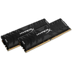 HyperX Predator Black, 16GB, DDR4, 2666MHz, CL13, 1.35V, Kit Dual Channel