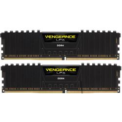 Vengeance LPX Black, 16GB, DDR4, 3200MHz, CL16, 1.35V, Kit Dual Channel