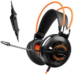 G925 Black/Orange, Jack 3.5mm, Negru/Portocaliu