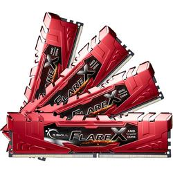 Flare X (for AMD), 32GB, DDR4, 2400MHz, CL15, 1.2V, Kit Quad Channel