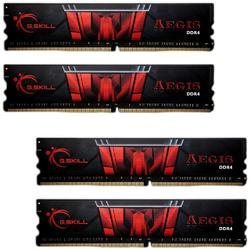 Aegis, 64GB, DDR4, 2400MHz, CL15, 1.2V, Kit Quad Channel