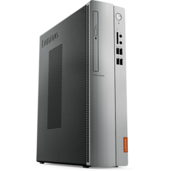 IdeaCentre 310S-08IAP, Celeron J3455 1.5GHz, 4GB DDR3, 1TB HDD, Intel HD 500, FreeDOS, Argintiu