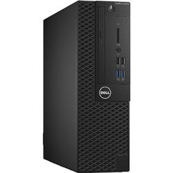 OptiPlex 3050 SFF, Core i3-7100 3.9GHz, 4GB DDR4, 128GB SSD, Intel HD 630, Linux, Negru